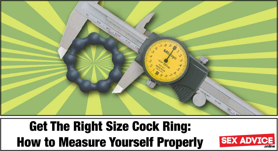get the right size cock ring